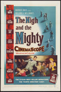"""Movie Posters:Adventure, The High and the Mighty (Warner Brothers, 1954). One Sheet (27"""" X41""""). Adventure.. ..."""