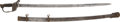 Military & Patriotic:Civil War, Civil War Non - Reg Officer's Sword Presented to the Color Bearer of the 77th Penna. Vol. Inf....