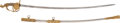 Military & Patriotic:Spanish American War, High Grade Presentation M1872 Cavalry Officer's Saber.... (Total: 2 Items)