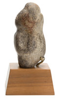 Antiques:Antiquities, Olmecoid Stone Figure...