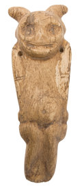 Antiques:Antiquities, Human Figure Carved in Bone...