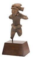 Antiques:Antiquities, Fragmentary Figure of a Maya Ballplayer...