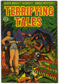 Golden Age (1938-1955):Horror, Terrifying Tales #12 (Star Publications, 1953) Condition: FN....