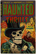 Golden Age (1938-1955):Horror, Haunted Thrills #6 (Farrell, 1953) Condition: FN....