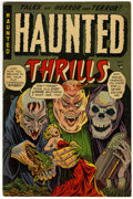 Golden Age (1938-1955):Horror, Haunted Thrills #11 (Farrell, 1953) Condition: FN....