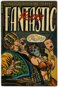 Golden Age (1938-1955):Horror, Fantastic Fears #8 (#2) (Farrell, 1953) Condition: FN....