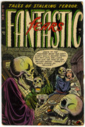 Golden Age (1938-1955):Horror, Fantastic Fears #4 (Farrell, 1953) Condition: VG+....