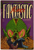 Golden Age (1938-1955):Horror, Fantastic Fears #7 (Farrell, 1954) Condition: FN+....