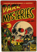 Golden Age (1938-1955):Horror, Dark Mysteries #2 (Master Publications, 1951) Condition: VG-....