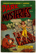 Golden Age (1938-1955):Horror, Dark Mysteries #9 (Master Publications, 1952) Condition: VG....