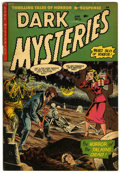 Golden Age (1938-1955):Horror, Dark Mysteries #12 (Master Publications, 1953) Condition: FN....