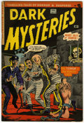 Golden Age (1938-1955):Horror, Dark Mysteries #13 (Master Publications, 1953) Condition: FN-....