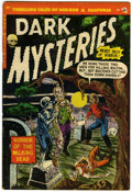 Golden Age (1938-1955):Horror, Dark Mysteries #16 (Master Publications, 1954) Condition: VG/FN....