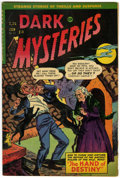 Golden Age (1938-1955):Horror, Dark Mysteries #22 (Master Publications, 1955) Condition: FN+....