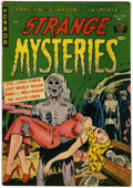 Golden Age (1938-1955):Horror, Strange Mysteries #1 (Superior, 1951) Condition: VG/FN....