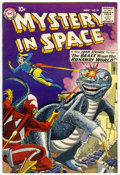 Silver Age (1956-1969):Science Fiction, Mystery in Space #55 Double cover (DC, 1959) Condition: FN/VF....