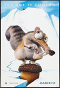 "Movie Posters:Animated, Ice Age (20th Century Fox, 2002). One Sheet (27"" X 40"") Advance DSStyle A. Animated.. ..."