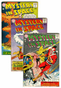 Silver Age (1956-1969):Science Fiction, Mystery in Space #81-89 Group (DC, 1962-63).... (Total: 9 Comic Books)