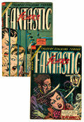 Golden Age (1938-1955):Horror, Fantastic Fears #8 and 9 Group (Farrell, 1954).... (Total: 2 ComicBooks)