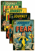 Golden Age (1938-1955):Horror, Journey Into Fear Group (Superior, 1951-52) Condition: AverageVG.... (Total: 4 Comic Books)