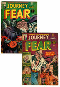 Golden Age (1938-1955):Horror, Journey Into Fear #11 and 12 Group (Superior, 1953).... (Total: 2Comic Books)
