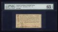 Colonial Notes:North Carolina, North Carolina December, 1771 £1 PMG Gem Uncirculated 65 EPQ.. ...