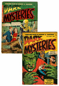 Golden Age (1938-1955):Horror, Dark Mysteries #3 and 4 Group (Master Publications, 1951-52)....(Total: 2 Comic Books)
