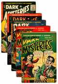 Golden Age (1938-1955):Horror, Dark Mysteries Group (Master Publications, 1952-55).... (Total: 5Comic Books)