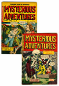 Golden Age (1938-1955):Horror, Mysterious Adventures #6 and 7 Group (Story Comics, 1952)....(Total: 2 Comic Books)