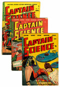 Golden Age (1938-1955):Science Fiction, Captain Science #2, 3, and 5 Group (Youthful Magazines, 1951)....(Total: 3 Comic Books)
