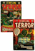Golden Age (1938-1955):Horror, Startling Terror Tales #9 and 10 Group (Star Publications,1954).... (Total: 2 Comic Books)