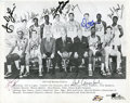 Basketball Collectibles:Photos, 1967-68 Boston Celtics Team Signed Photograph - ChampionshipSeason!...