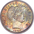 Barber Dimes, 1906 10C MS67 PCGS Secure. CAC....