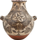 American Indian Art:Pottery, AN ACOMA POLYCHROME VASE. c. 1895...