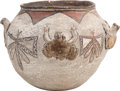 American Indian Art:Pottery, A ZUNI POLYCHROME FROG EFFIGY JAR. c. 1900...