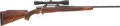 Military & Patriotic:WWII, Belgian Browning Deluxe Safari Bolt-Action Rifle and Leupold 3 x 9 Vari-X IIc Scope....