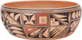 American Indian Art:Pottery, A HOPI POLYCHROME BOWL. Roberta Silas...
