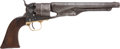 Military & Patriotic:Civil War, Four Screw Colt M1860 .44 Cal. Percussion Army Revolver #34076 Mfg. Early 1862....