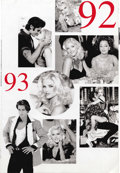"Movie/TV Memorabilia:Posters, Anna Nicole Smith Guess Jeans Poster. A b&w 58"" x 84"" posterfeaturing an unknown model on the obverse, and images of Anna N...(Total: 1 Item)"