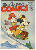 Golden Age (1938-1955):Cartoon Character, Walt Disney's Comics and Stories #41 (Dell, 1944) Condition:VG+....