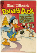 Golden Age (1938-1955):Funny Animal, Four Color #203 Donald Duck (Dell, 1948) Condition: FN....