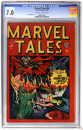 Golden Age (1938-1955):Horror, Marvel Tales #94 (Atlas, 1949) CGC FN/VF 7.0 Off-white to whitepages....