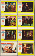 """Movie Posters:Comedy, Let's Make Love (20th Century Fox, 1960). Lobby Card Set of 8 (11""""X 14""""). Comedy.. ... (Total: 8 Items)"""