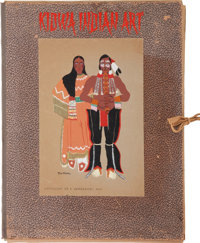 A PORTFOLIO OF KIOWA INDIAN ART c. 1929