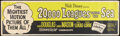"""Movie Posters:Science Fiction, 20,000 Leagues Under the Sea (Buena Vista, R-1963). Banner (24"""" X82""""). Science Fiction.. ..."""