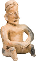 Antiques:Antiquities, Jalisco Smiling Seated Woman...