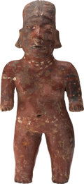 Antiques:Antiquities, Colima Standing Female Figure...