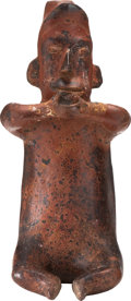 Antiques:Antiquities, Colima Drinking Man...
