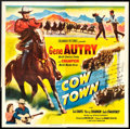 "Movie Posters:Western, Cow Town (Columbia, 1950). Six Sheet (81"" X 81""). Western.. ..."