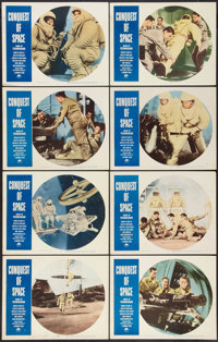 """Conquest of Space (Paramount, 1955). Lobby Card Set of 8 (11"""" X 14""""). Science Fiction. ... (Total: 8 Items)"""
